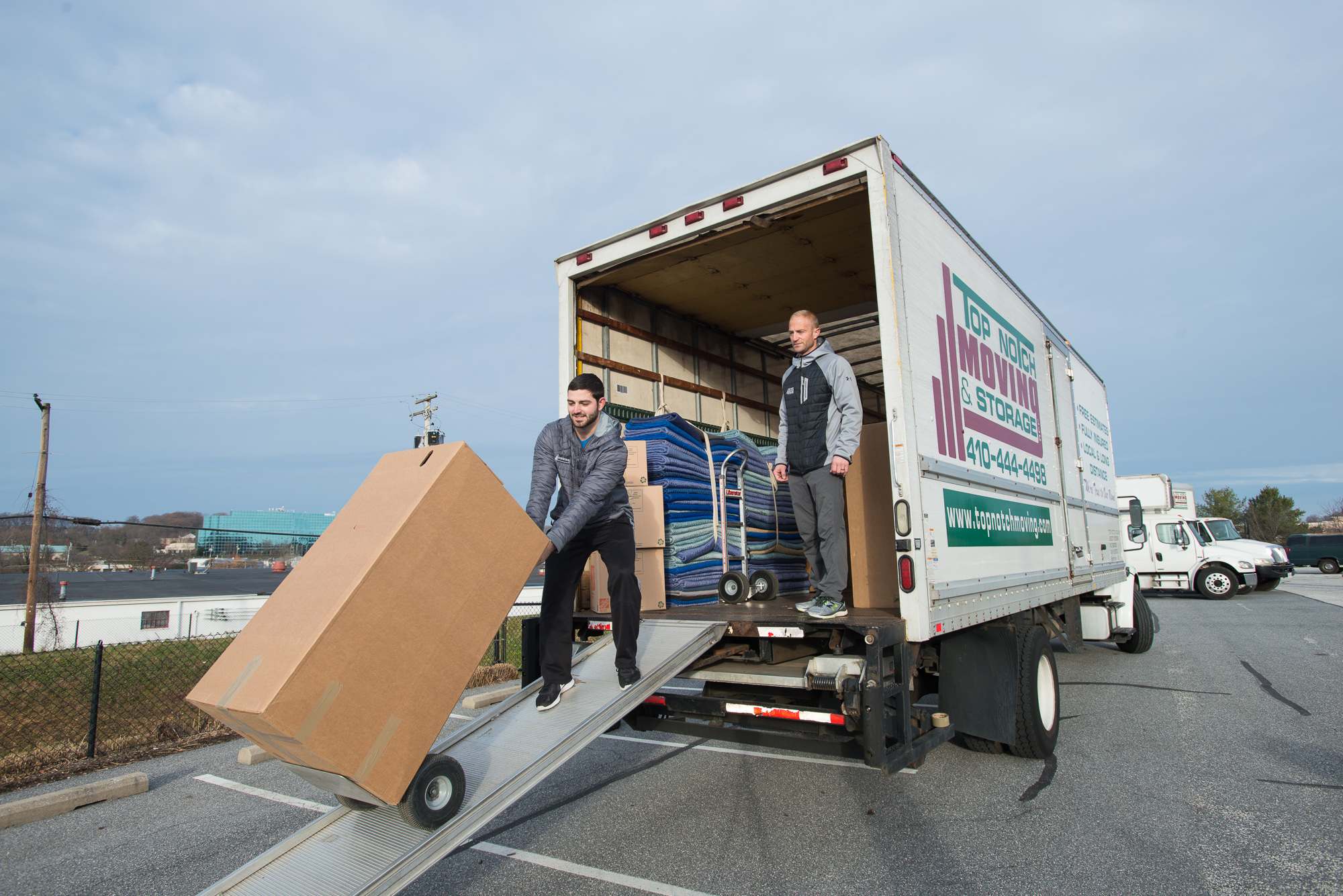 Towson movers, moving and storage, residential and commercial